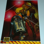 Star Wars Galaxy 1994 series 2 Topps #166 Boris Vallejo Trading card
